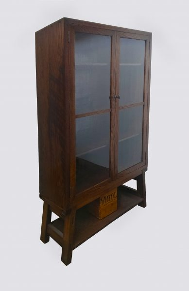 distressed-oak-display-cabinet-1