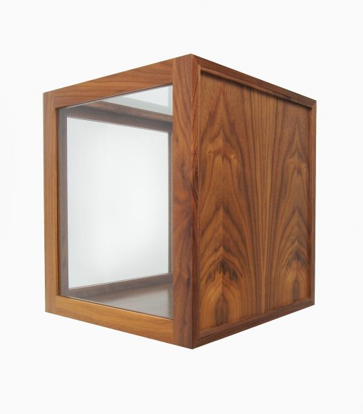 walnut-display-cube