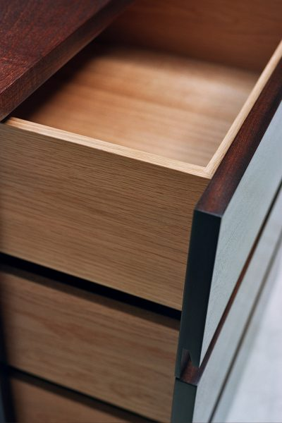 Luxury-media-cabinet-drawer-detail