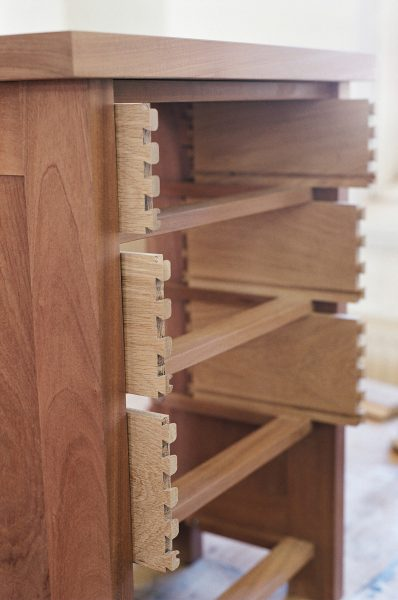 Dovetailed-drawer-boxes