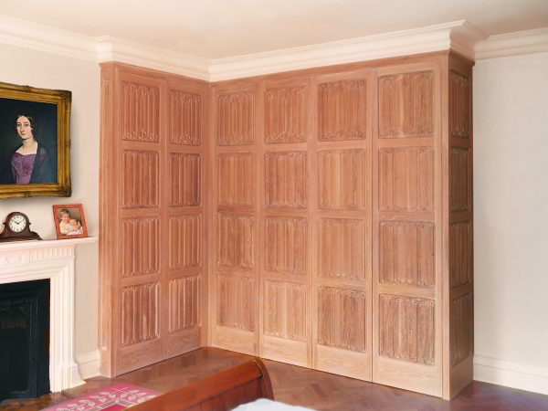 Linenfold-handcarved-wardrobe-luxury-furniture