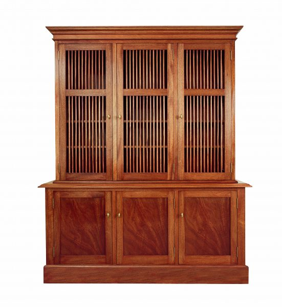 Two-tier-library-bookcase