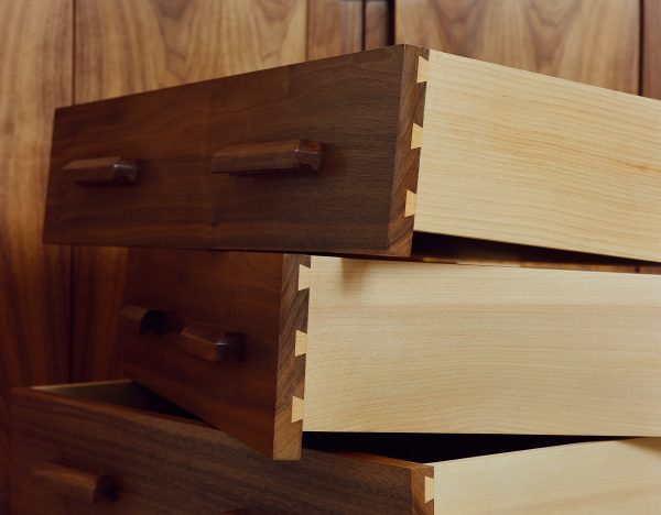 walnut-and-cedar-dovetailed-drawers